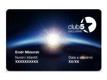 Anëtarësimi Club5 Ekskluziv për 2 Vite