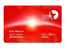 Anëtarësimi Club5 Premium për 1 Vit