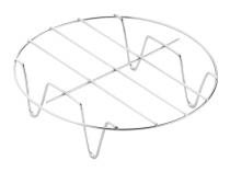 Zgarë për fritezën Air Fryer 17cm Delimano