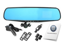 Pasqyrë dhe kamera HD për makinë